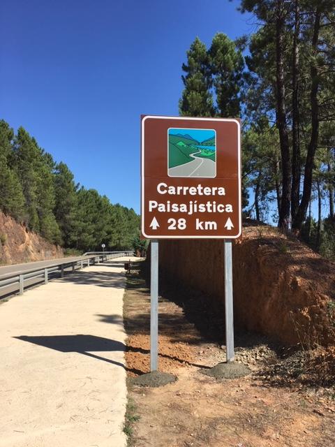 Carretera paisajística